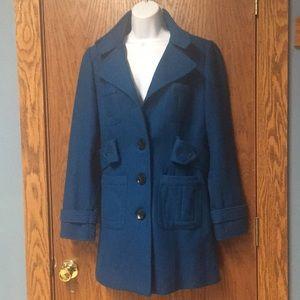 Teal Pea Coat